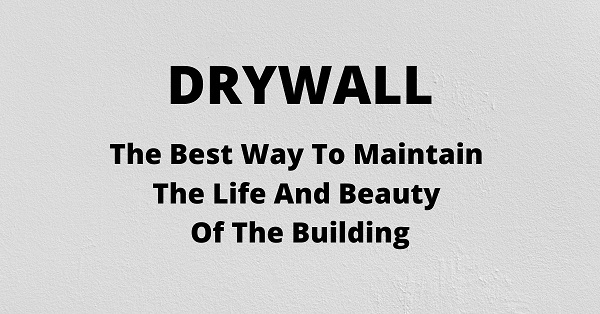 Drywall repair and installation